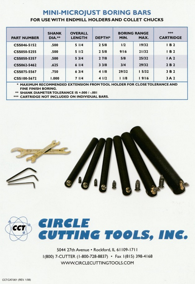 Boring Bars, Boring Rings, Boring Ring Adapters and Custom Special Tooling, boring bar shanks, boring rings, boring holders, collet chucks